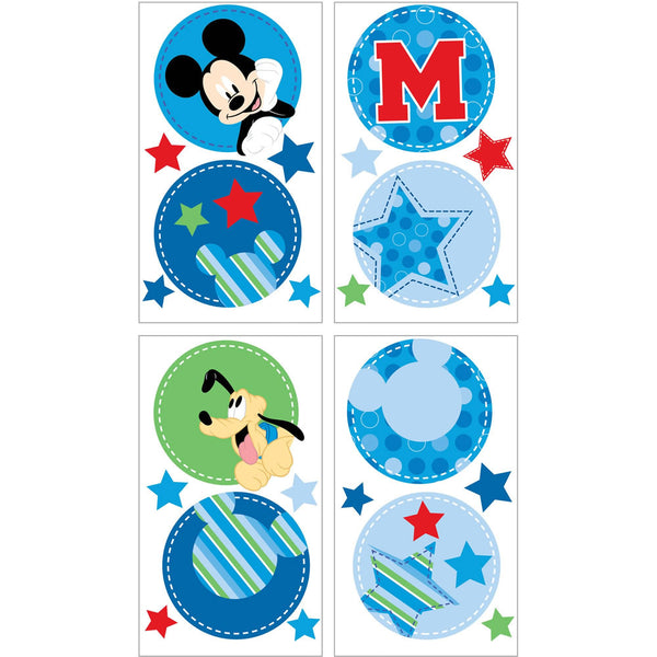 Disney Wall Decals, Mickey Best Friends