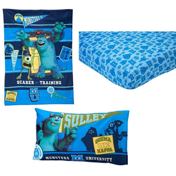 Disney Monsters's U Scarer Training 4pc Toddler Set