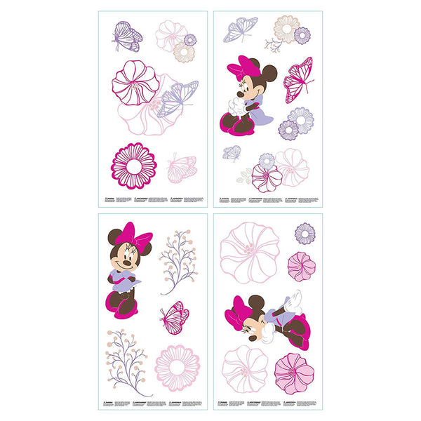 Disney Minnie Butterfly Dreams Wall Decals