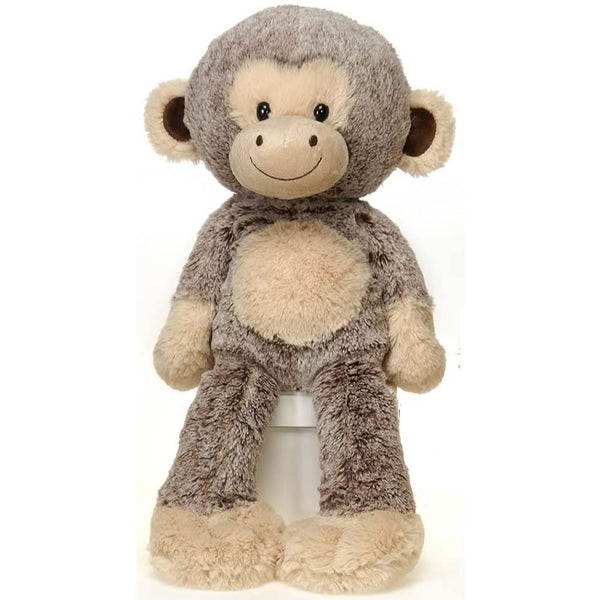 "Fiesta Toys Fuzzy Folk Bean Bag 16"" Monkey Harold Animal Plush"