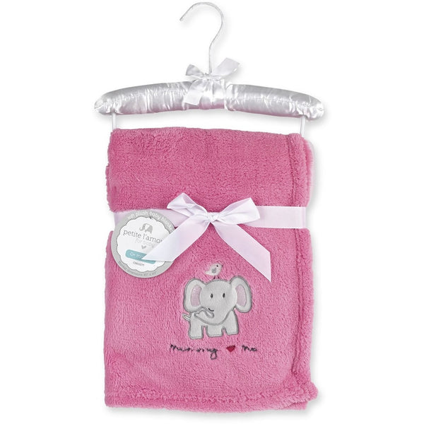 Petite L'amour Soft Plush Blanket - Mommy Love Me