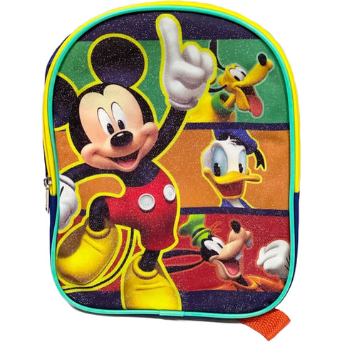 "Disney Mickey Mouse 10"" Small Backpack"