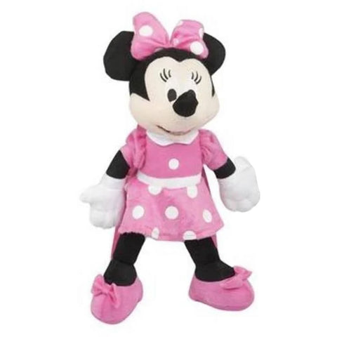 Disney Minnie Mouse Plush Backpack 15""