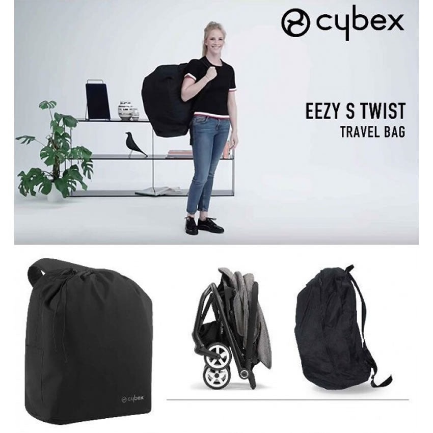 Cybex Eezy S Twist Travel Bag Black