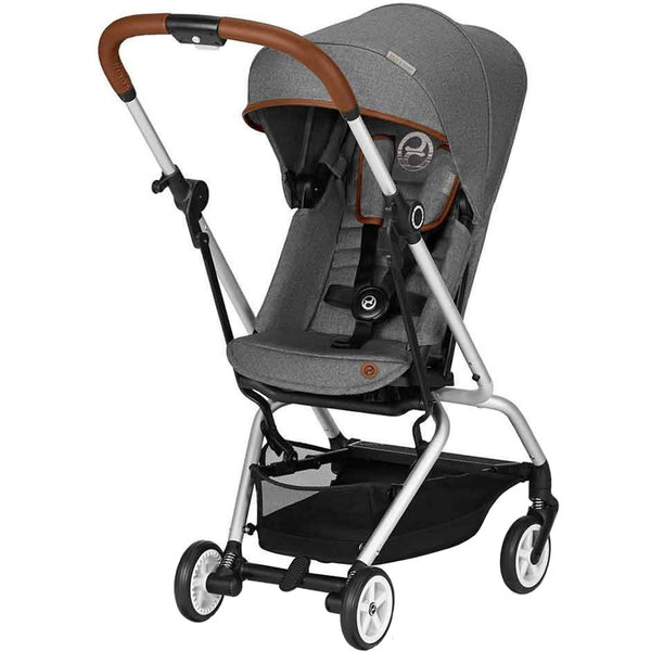 Cybex Eezy S Twist Denim Stroller in Manhattan Grey