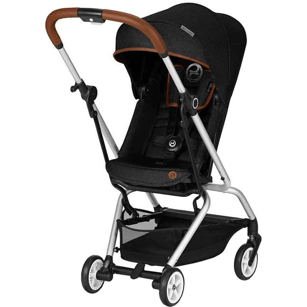 Cybex Eezy S Twist Denim Stroller in Lavastone Black