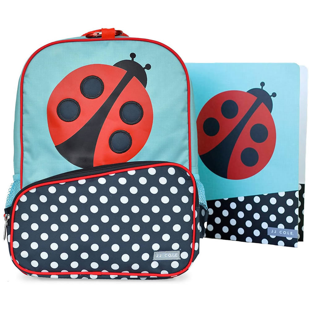 JJ Cole Collections Little Backpack, Lady Bug
