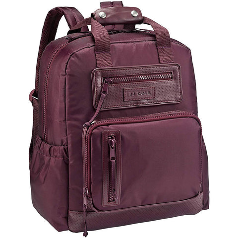JJ Cole Collections Papago Pack Diaper Bag - Eggplant