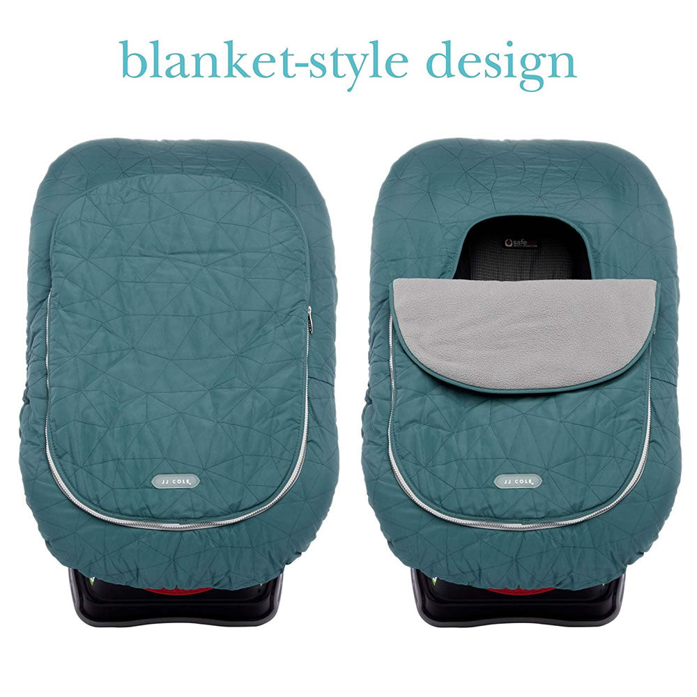 Brilliant Jj Cole Collections Car Seat Cover Teal Fractal Ny Baby Store Machost Co Dining Chair Design Ideas Machostcouk