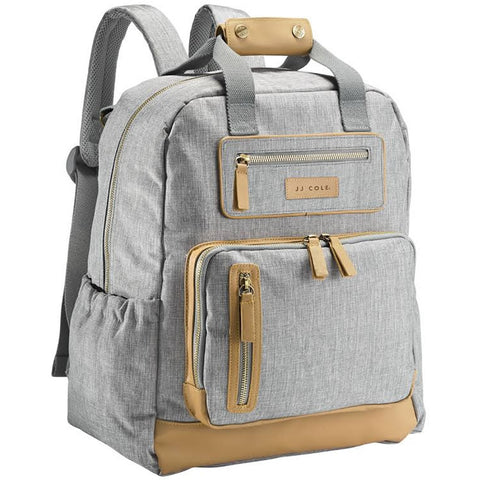 JJ Cole Collections Papago Pack Diaper Bag - Heather Gray