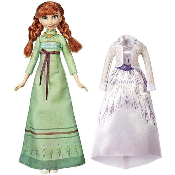 Disney Frozen Arendelle Fashions Anna Fashion Doll with Outfits
