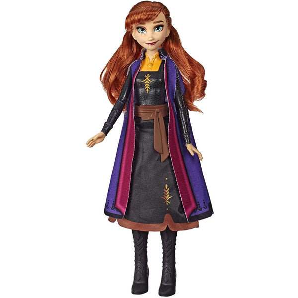 Disney Frozen II Autumn Swirling Adventure Doll 11'', Anna