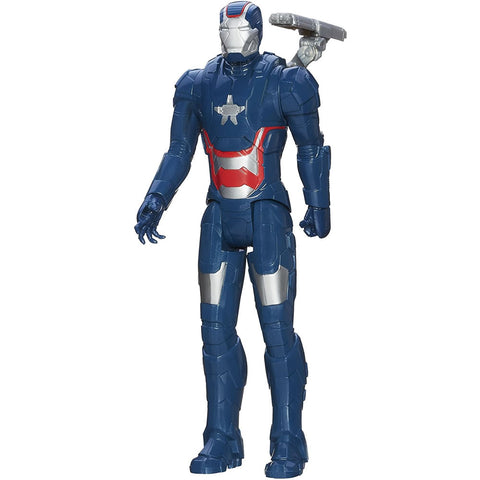 Marvel Iron Man 3 Titan Hero Series Iron Patriot Figure, 11""