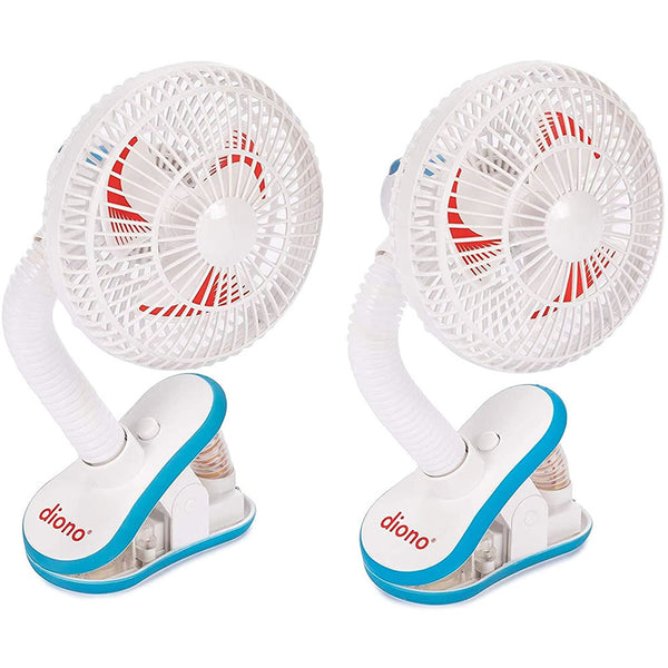 Diono Two2Go Stroller Fan, White