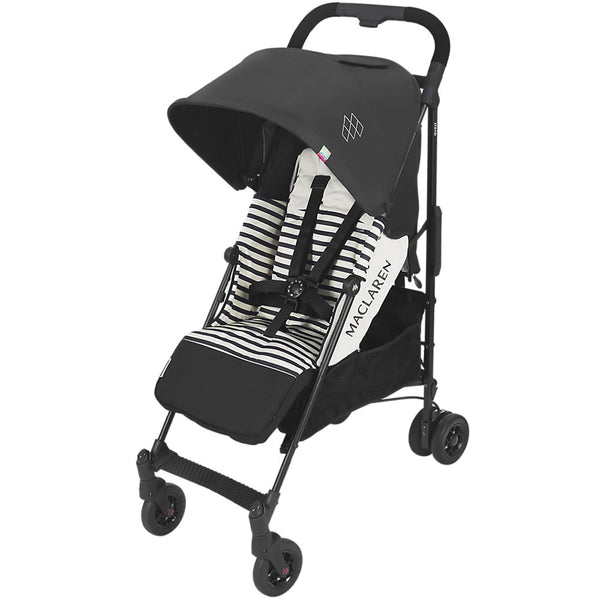 Maclaren Quest Arc Stroller - Railroad Stripe