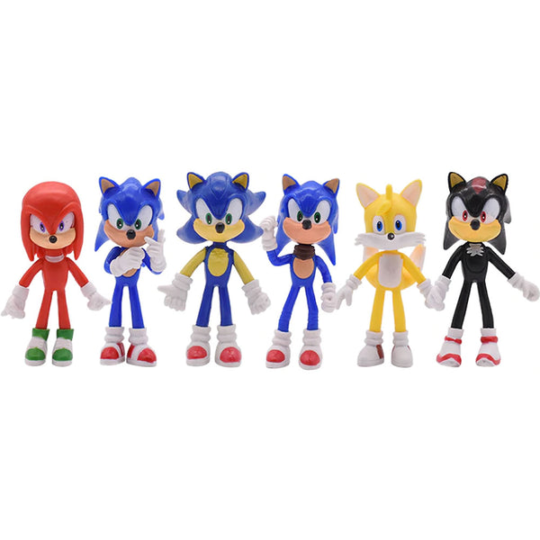 Sonic The Hedgehog Action Figure 4""
