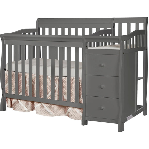Dream On Me Jayden 2 in 1 Convertible With Changer, Gray