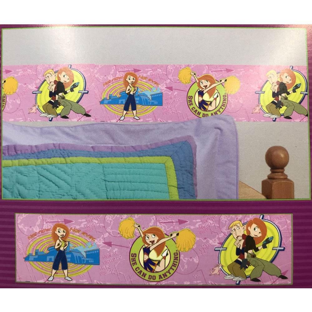 Priss Prints Kim Possible Border Stick-Up