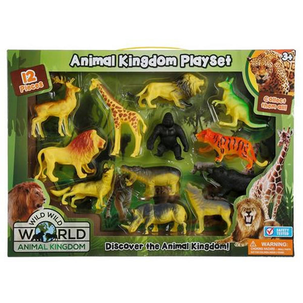 Lollipop 12-Piece Animal Kingdom Playset