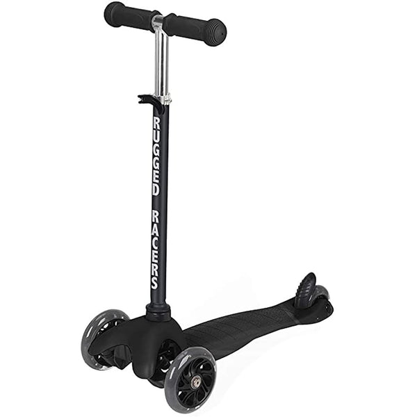 Rugged Racers Deluxe Mini Scooter, Black