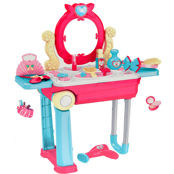Happy Dresser 2 in 1 Beauty Musical Vanity Play Set