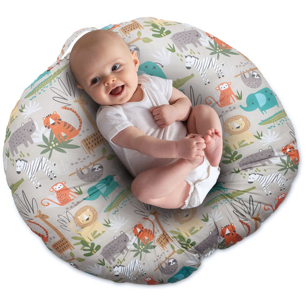 Boppy Newborn Lounger - Woodtone Jungle