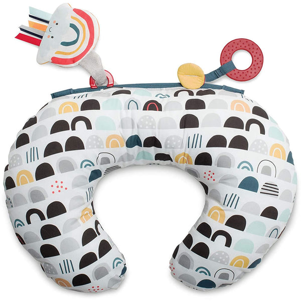Boppy Tummy Time Prop, Black White Rainbow