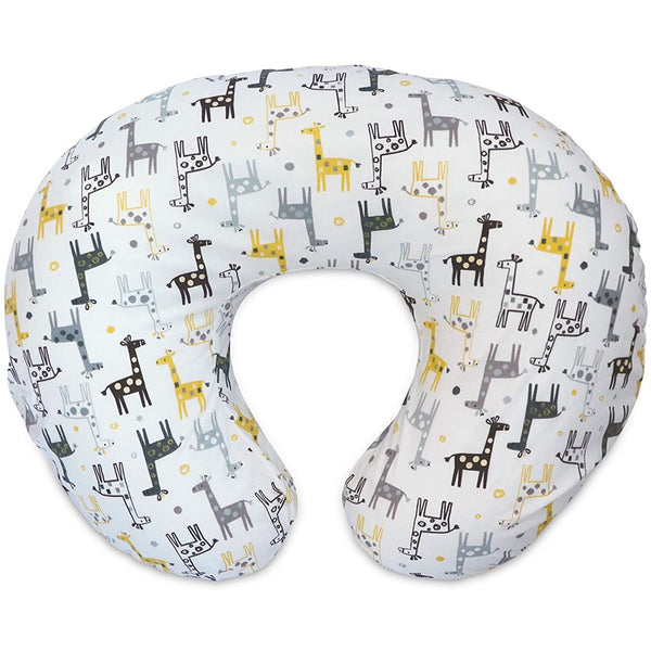 Boppy Original Cover, Gray Gold Giraffes