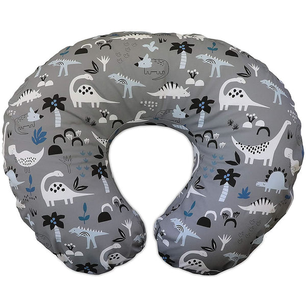 Boppy Original Feeding & Infant Support Pillow, Gray Dinosaurs