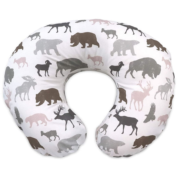 Boppy Original Feeding & Infant Support Pillow, Neutral Wildlife