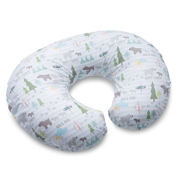 Boppy Nursing Pillow and Positioner, Happy Camper