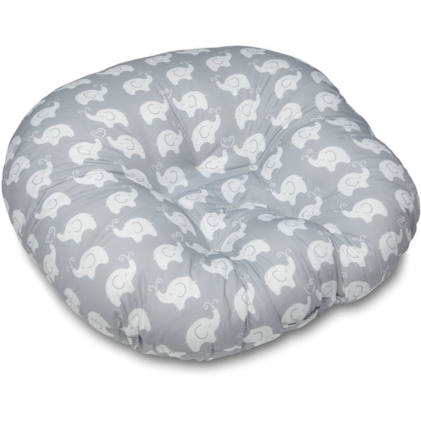 Boppy Newborn Lounger - Elephant Love Gray