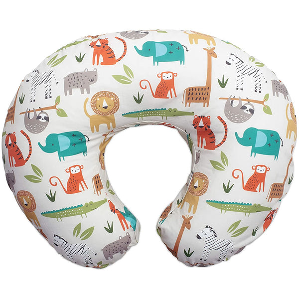 Boppy Original Feeding & Infant Support Pillow, Neutral Jungle Colors