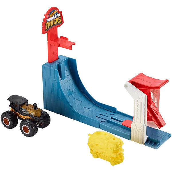 Hot Wheels Monster Trucks Big AIR Breakout Track Set