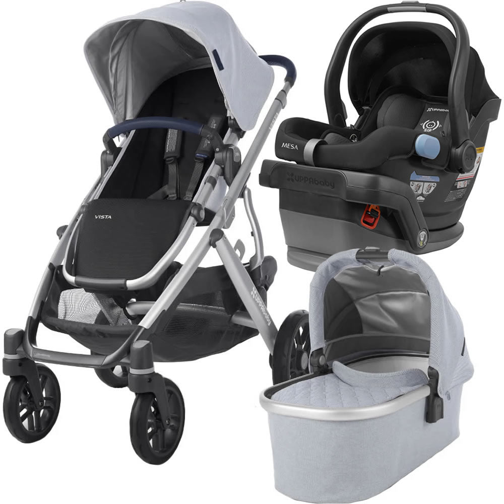 UPPAbaby Vista Stroller with Mesa Infant Car Seat - William/Jake