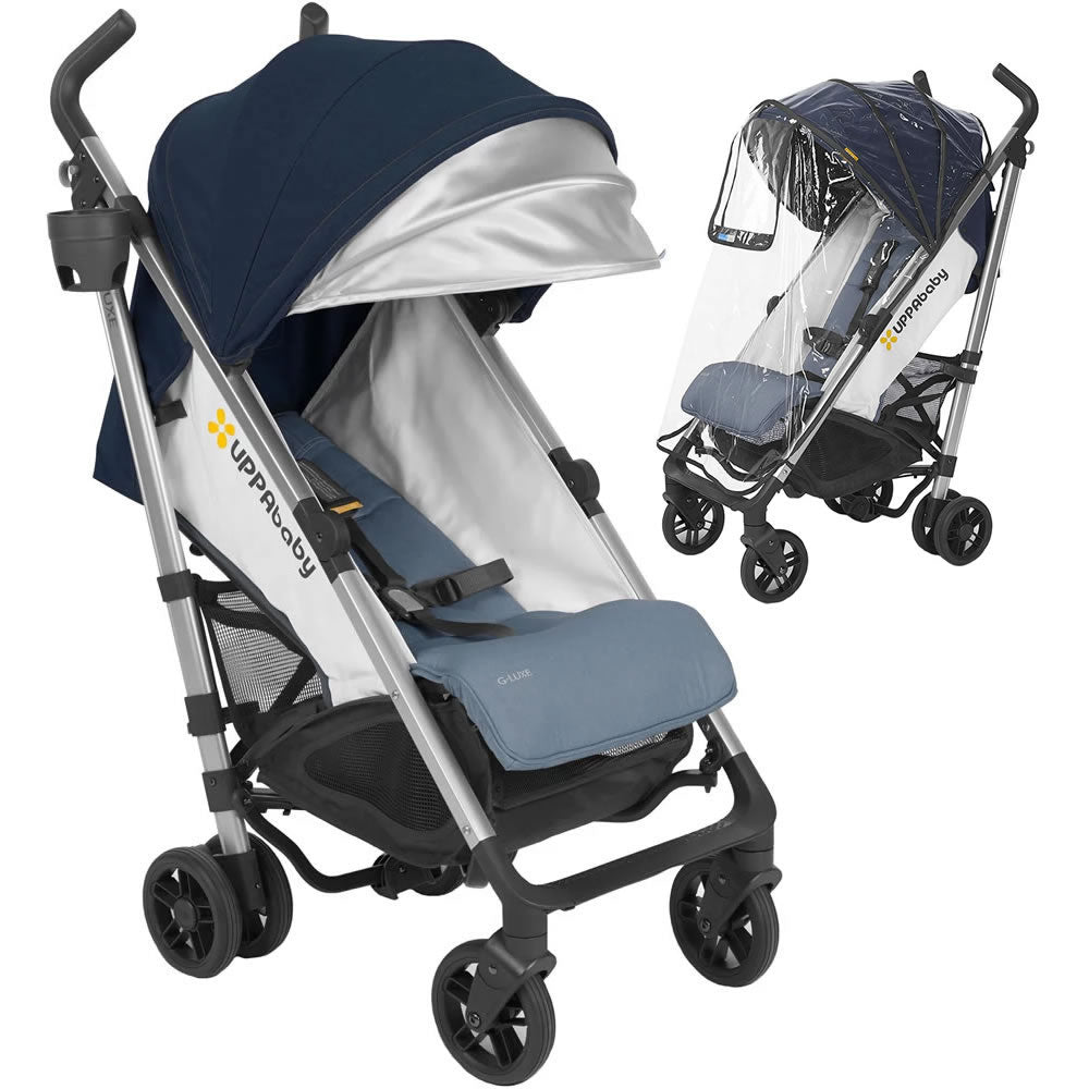 UPPAbaby 2018 G-Luxe Stroller With Rain Shield - Aidan