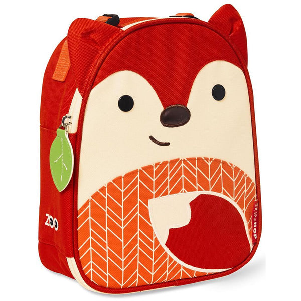 Skip Hop Zoo Lunchies Insulated Lunch Bag, New Fox