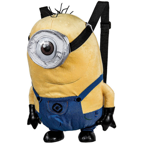 "Despicable Me 14"" Plush Backpack, Minion"