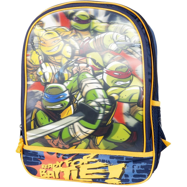 Nickelodeon Teenage Mutant Ninja Turtles 3-D Backpack 16""