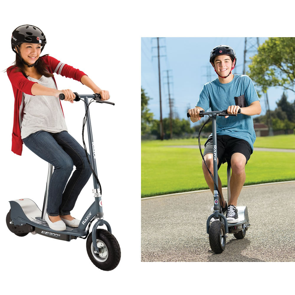 Razor E300S Seated Electric Scooter - Matte Gray – NY Baby Store