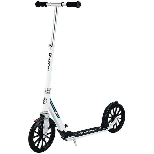 Razor A6 Kick Scooter, White