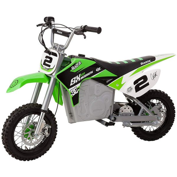 Razor Dirt Rocket SX500 McGrath Electric Motocross Bike, Green