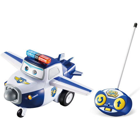 Super Wings Remote Control Paul With Lights & Sounds