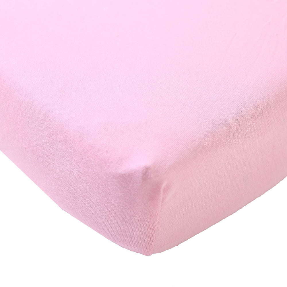 Big Oshi Fitted Crib Sheet Or Toddler Bed, Pink