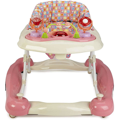 Big Oshi 2 in 1 Baby Walker - Pink
