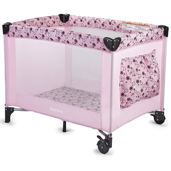 Big Oshi Playard with Carry Bag, Pink