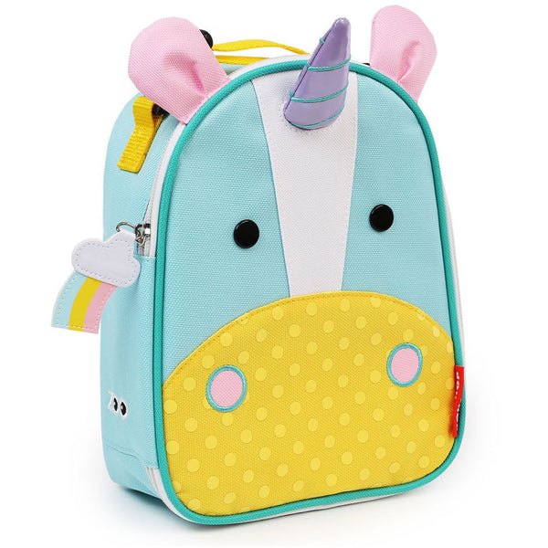 Skip Hop Zoo Lunchies Insulated Lunch Bag, Unicorn