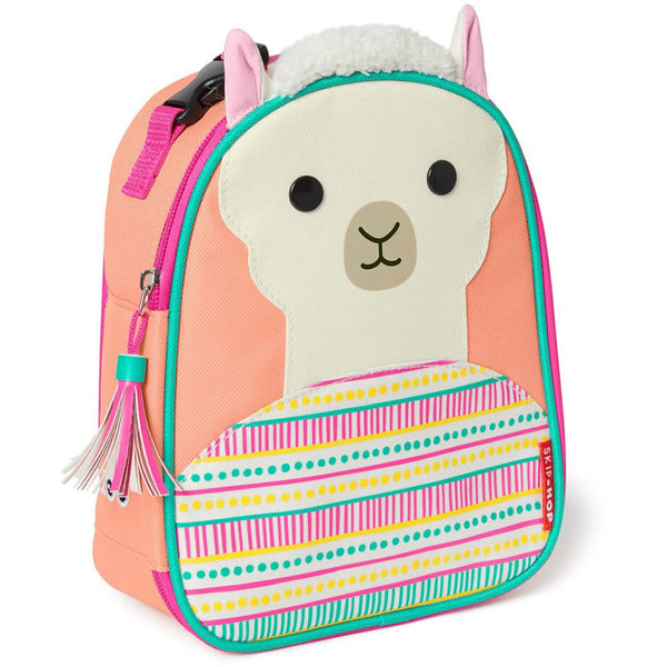Skip Hop Zoo Lunchies Insulated Lunch Bag, Llama