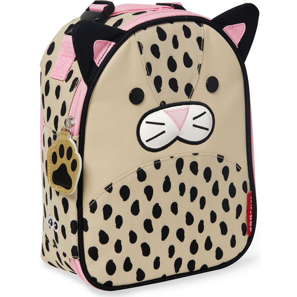 Skip Hop Zoo Lunchies Insulated Lunch Bag, Leopard