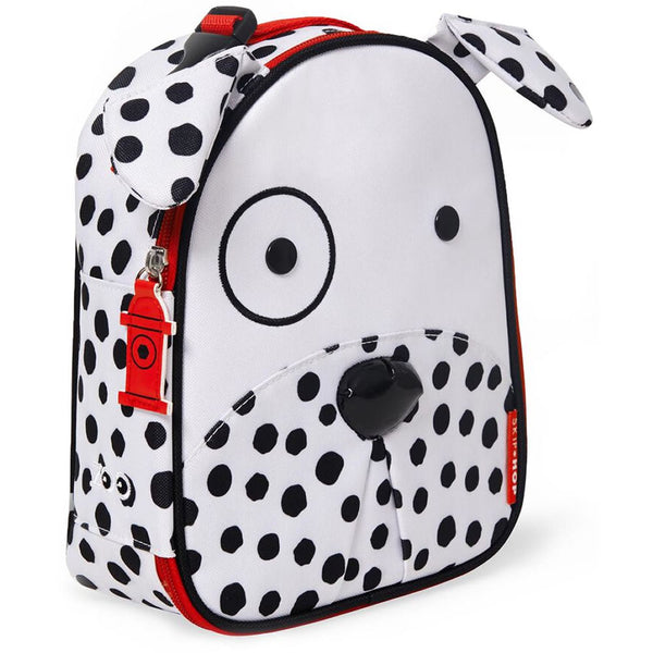 Skip Hop Zoo Lunchies Insulated Lunch Bag, Dalmatian